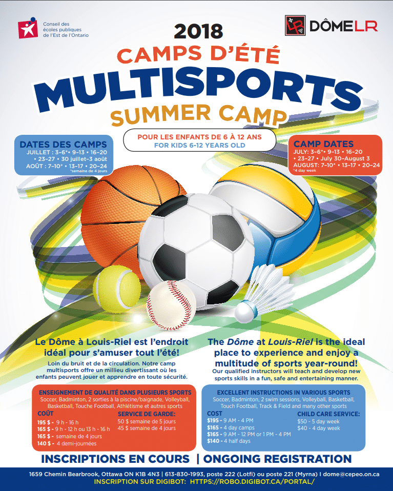 2018 Multisports Summer Camps