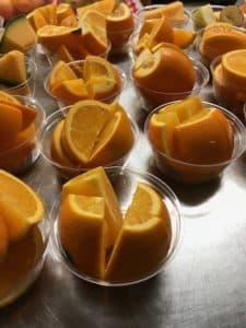 Des fruits prêts à être dégustés!