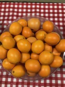 Des oranges!